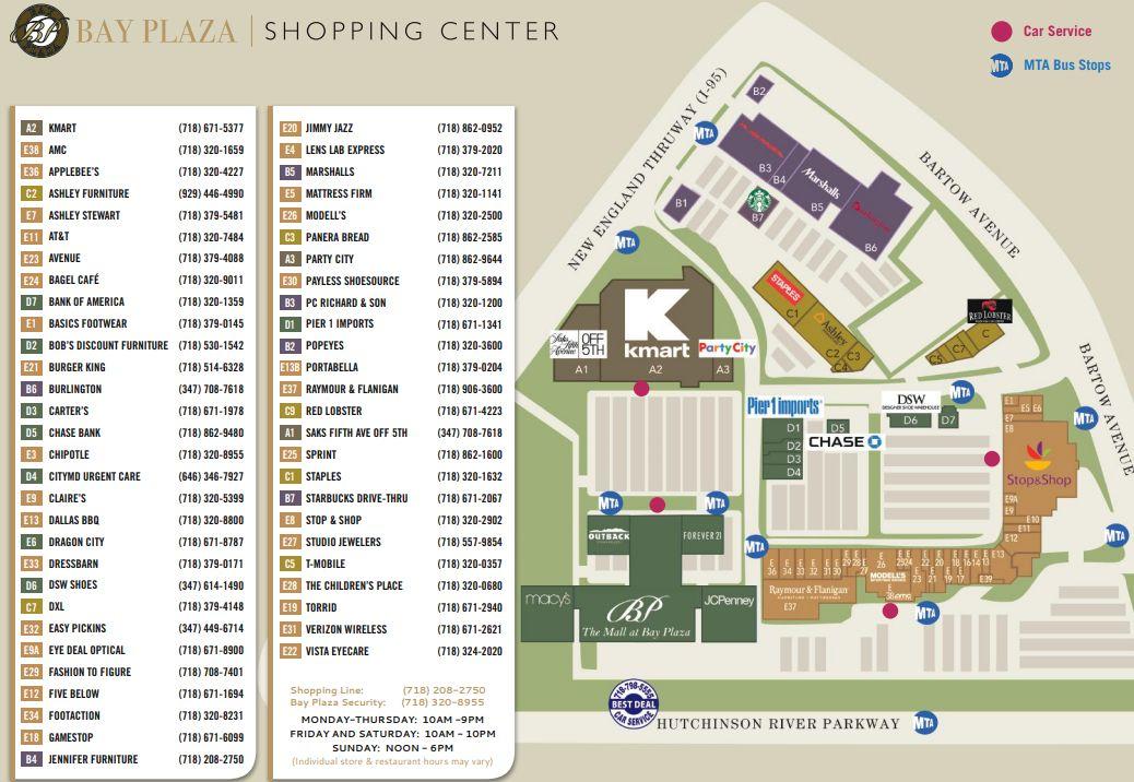 85c8ea28e5 DXL located in Bronx, New York NY (Bay Plaza Shopping Center) - MallsCenters