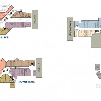 Bridgewater Commons plan - map of store locations