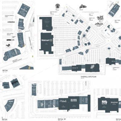 Centennial Centre plan - map of store locations
