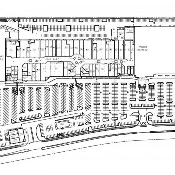 Center At Forestville plan - map of store locations