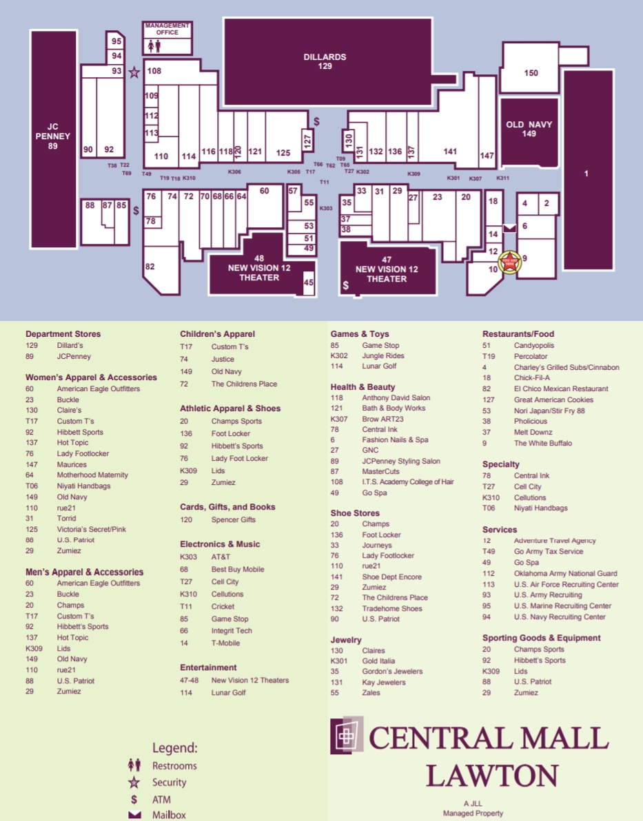 Sears Lawton Ok >> Sears Located In Lawton Oklahoma Ok Central Mall Oklahoma