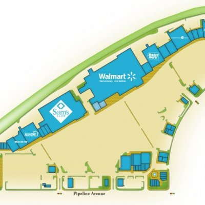 Chino Spectrum Towne Center plan - map of store locations