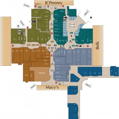 Cross Creek Mall (133 stores) - shopping in Fayetteville, North ...