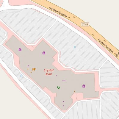 Crystal Mall plan - map of store locations