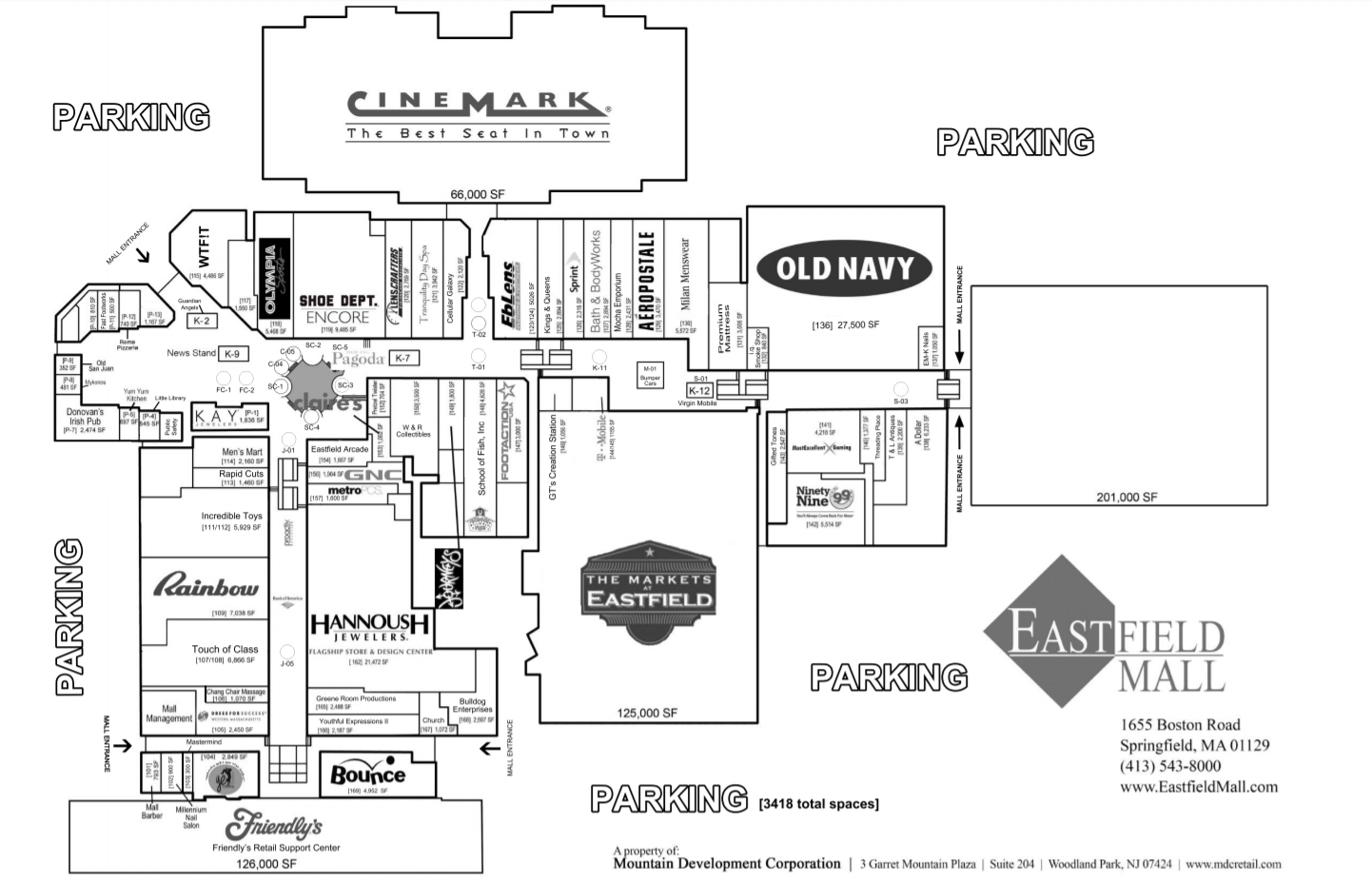 Eastfield Mall (65 stores) - shopping in Springfield