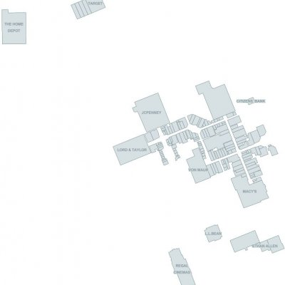 Eastview Mall plan - map of store locations