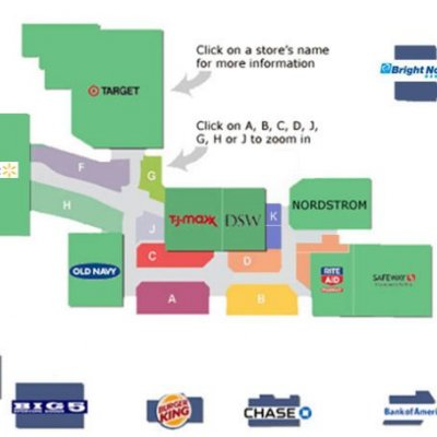 Factoria Market Place Mall plan - map of store locations