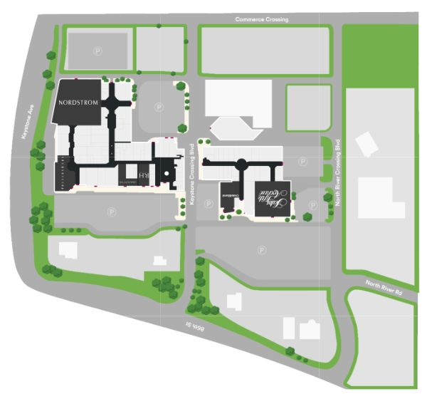 Fashion Mall At Keystone Plan Map Of Locations