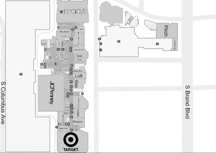 Glendale Galleria (196 stores) - shopping in Glendale, California CA on park place store map, smith haven mall stores map, tysons corner virginia map, dallas galleria store map, galleria mall dallas map, pier park store map, galleria mall gift cards, menlo park mall stores map, galleria mall directory, galleria mall store list, galleria mall dress stores, roseville galleria mall map, valley view center store map, houston galleria stores map, tysons mall map, downtown store map, arundel mills mall stores map, sawgrass mills store map,