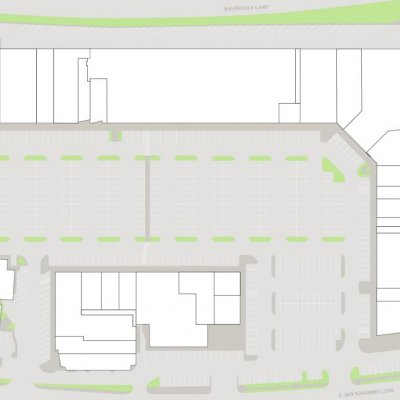 Hillside Village Shopping Center plan - map of store locations