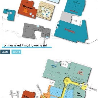 La Gran Plaza Mall plan - map of store locations