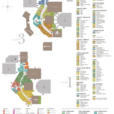 MainPlace Mall plan - map of store locations