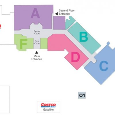 Mall of Americas plan - map of store locations