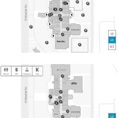 Mayfair Mall plan - map of store locations
