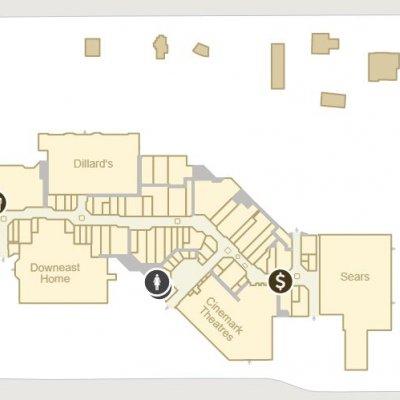Newgate Mall plan - map of store locations