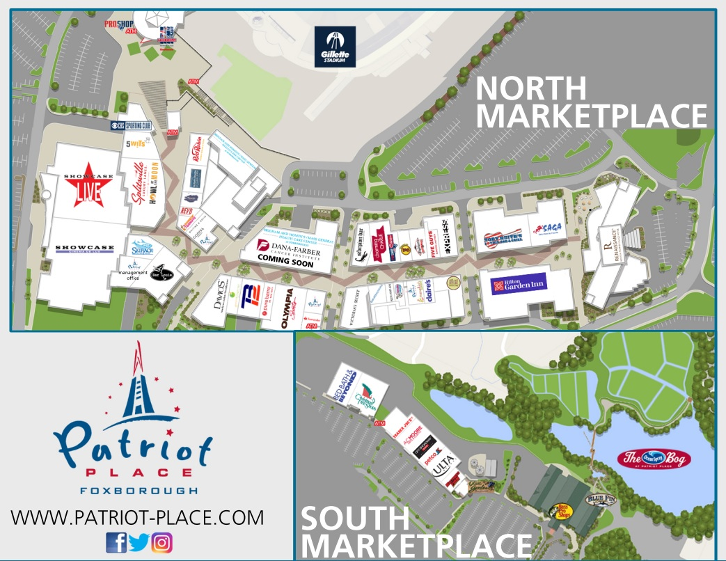 patriot place ultrasound – Geographic Map of US