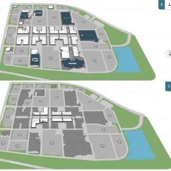 SanTan Village plan - map of store locations