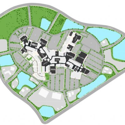 Sawgrass Mills plan - map of store locations