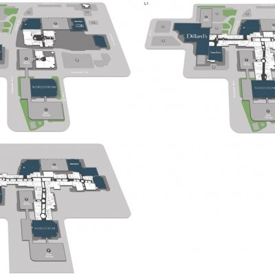 Scottsdale Fashion Square plan - map of store locations