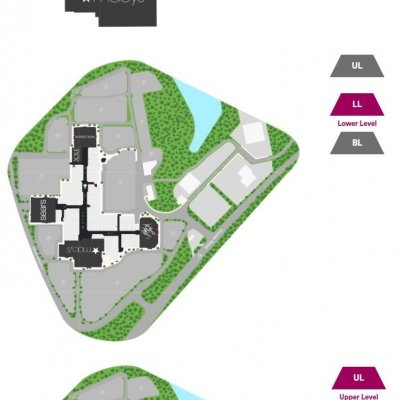 South Shore Plaza plan - map of store locations