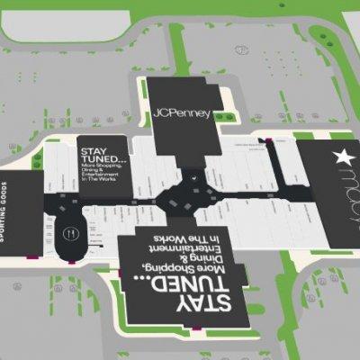 Southridge Mall plan - map of store locations