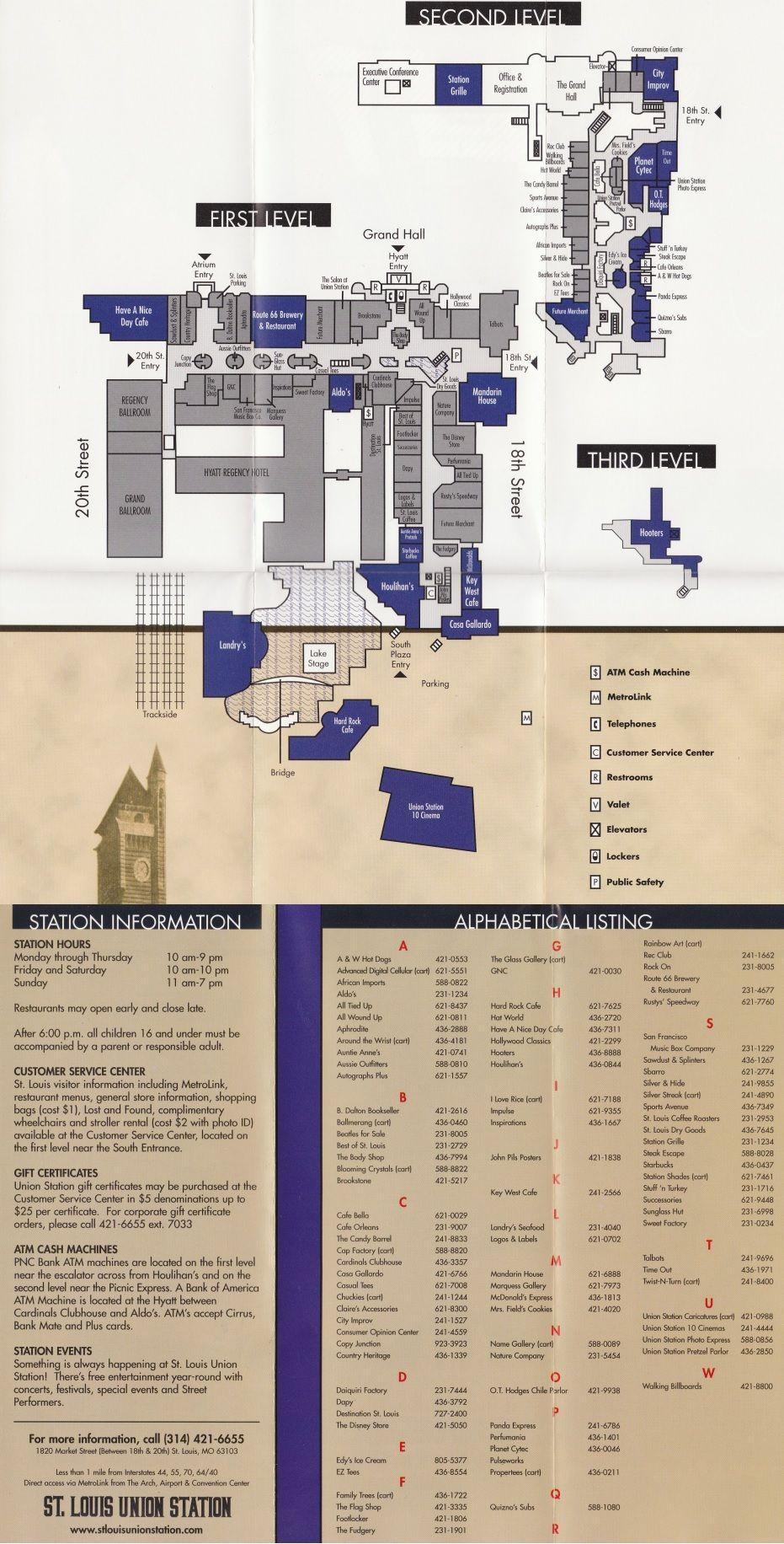 St. Louis Union Station (11 stores