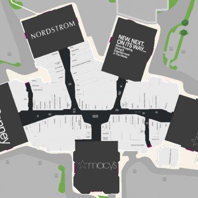 Stoneridge Shopping Center plan - map of store locations