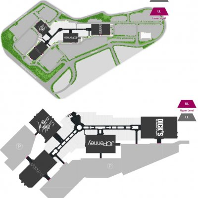 The Mall at Rockingham Park plan - map of store locations
