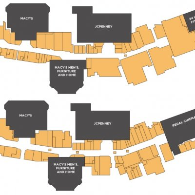 The Shoppes at Carlsbad plan - map of store locations