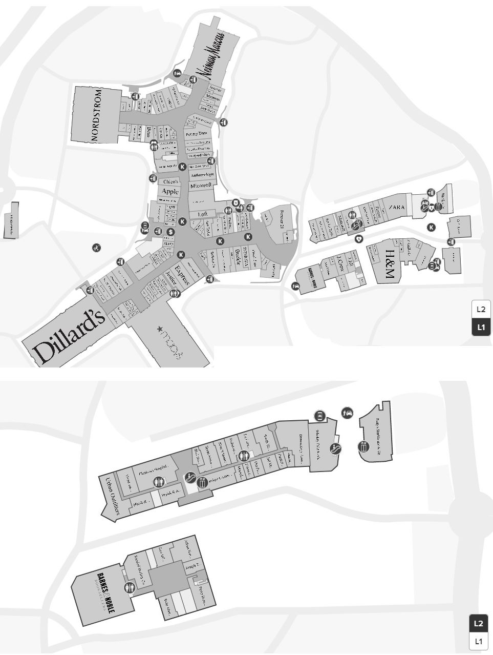 Good Map And Store Locations   The Shops At La Cantera