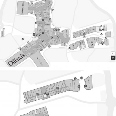 Map And Store Locations The Shops At La Cantera