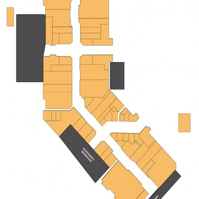 Three Rivers Mall plan - map of store locations