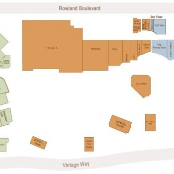 Vintage Oaks At Novato plan - map of store locations