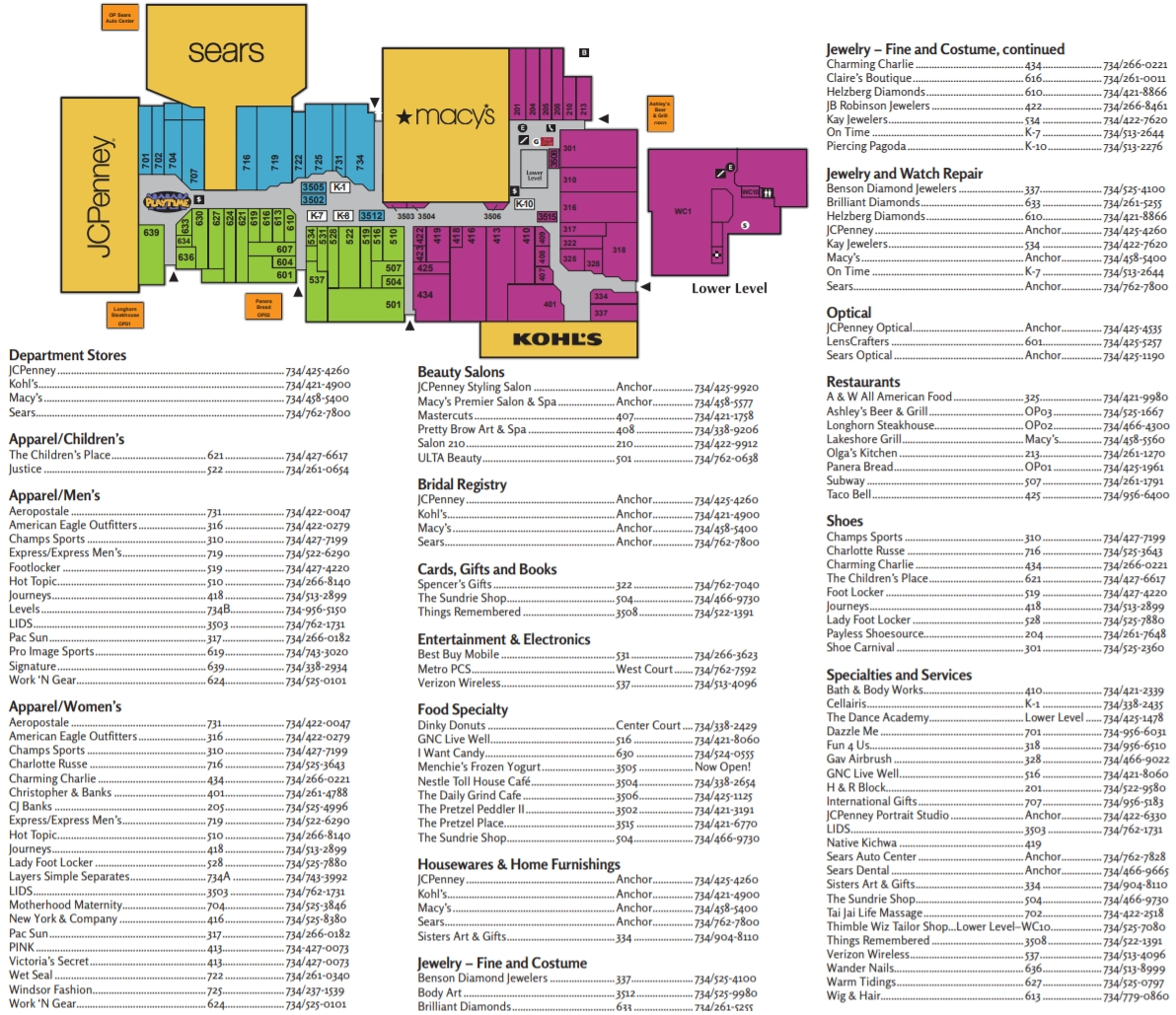 Westland Center 75 Stores Shopping In Westland Michigan Mi 48185 Mallscenters