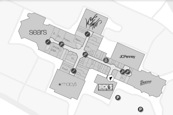 Woodbridge Mall Map Woodbridge Center (148 stores)   shopping in Woodbridge, New  Woodbridge Mall Map